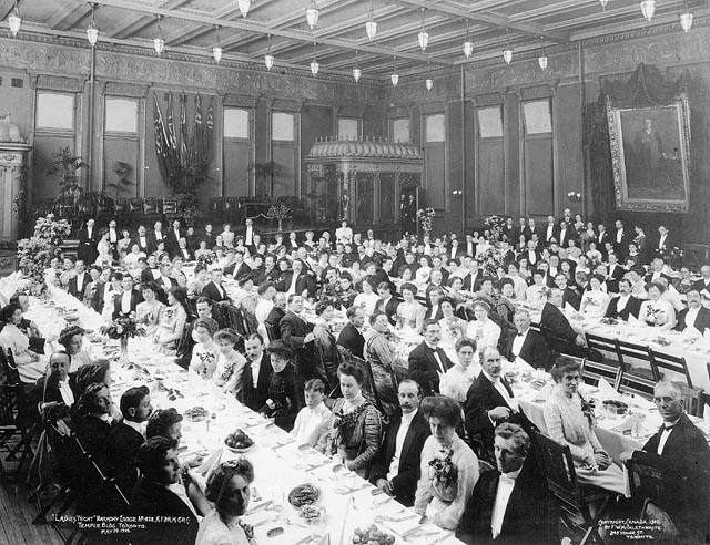 Banquet at Temple Building