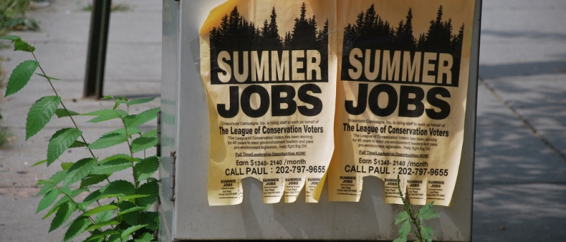 Summer Job Ads