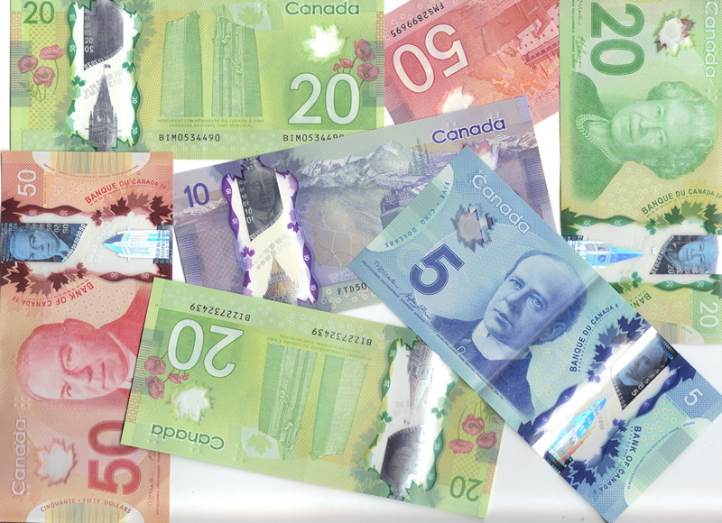 Canadian polymer bills