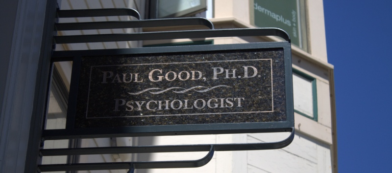 Psychologist sign