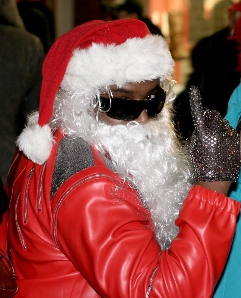 Santa Claus in Toronto
