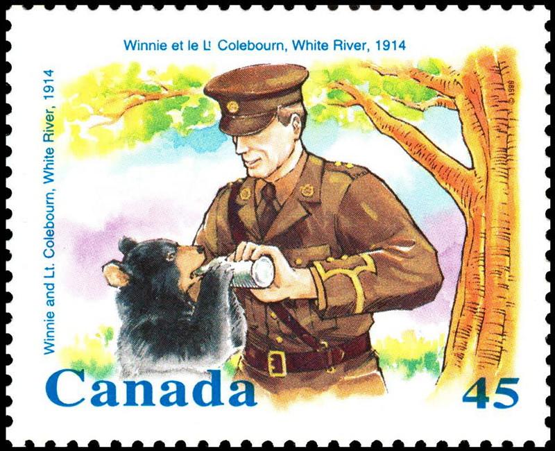Canadian Winnie stamp