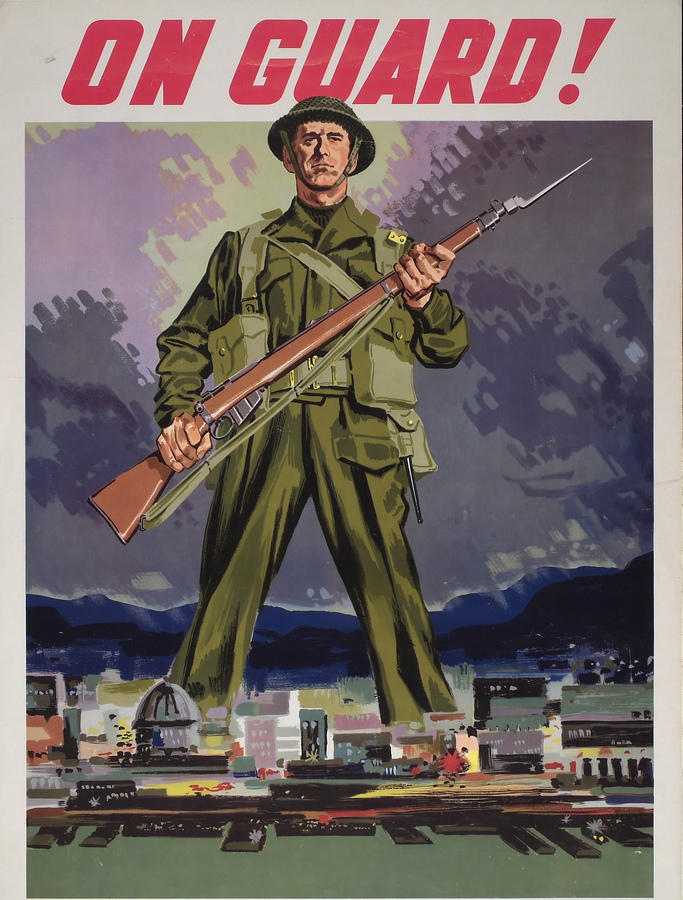 Canadian poster WW2