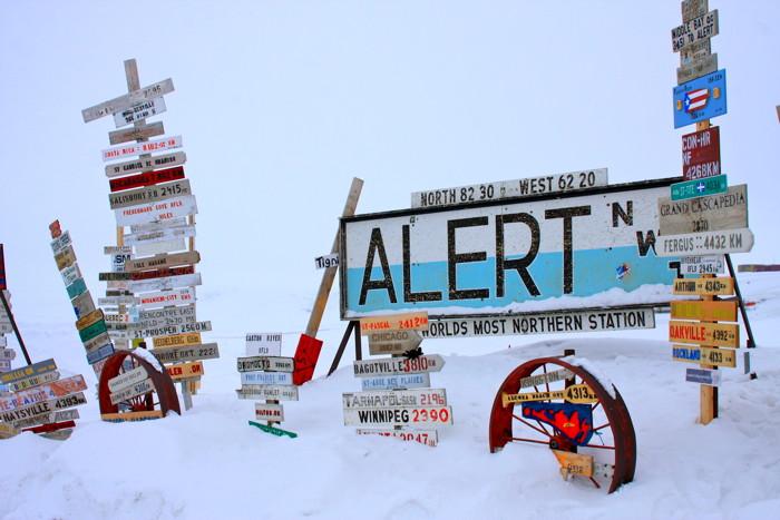 Alert settlement, Nunavut