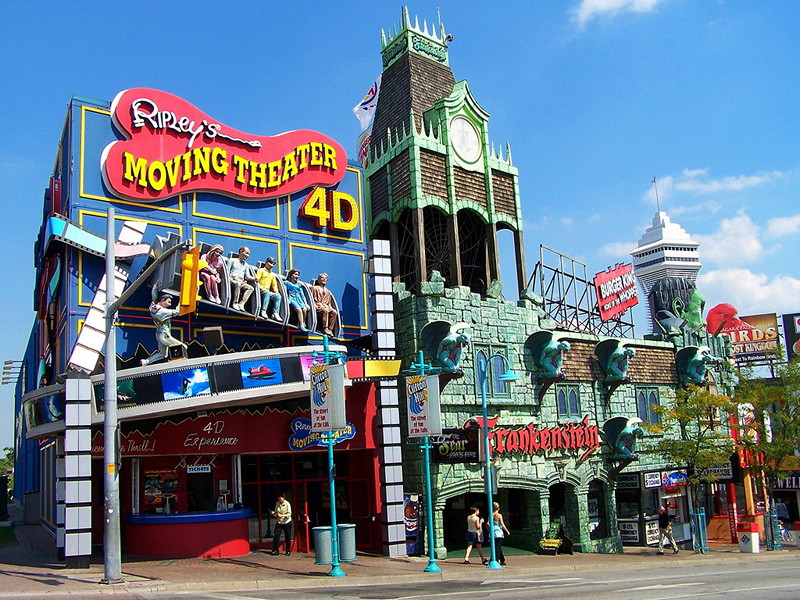 Clifton Hill entertainment district
