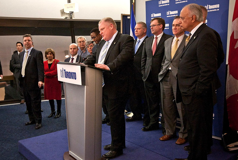 Rob Ford in the City Hall