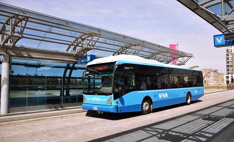 Rapidway bus