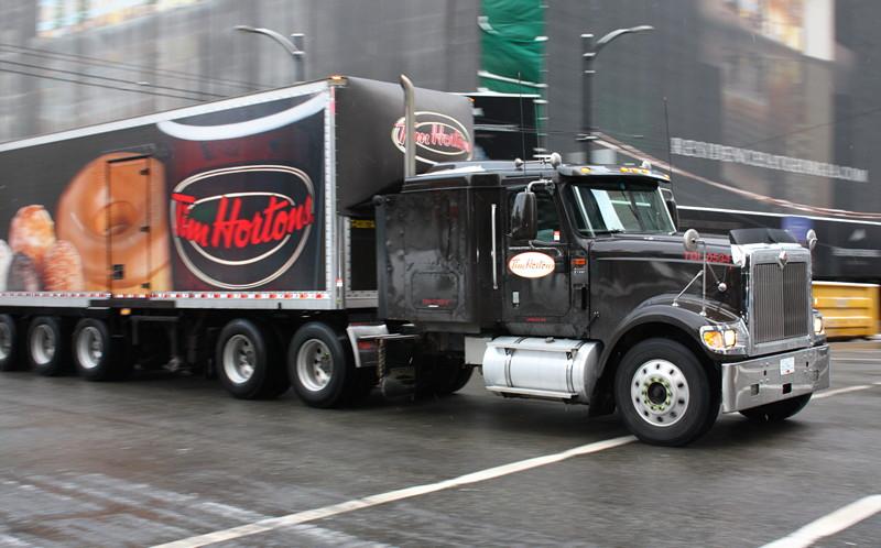 Tim Hortons truck