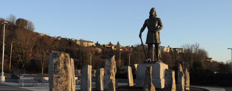 Nefoundland statue