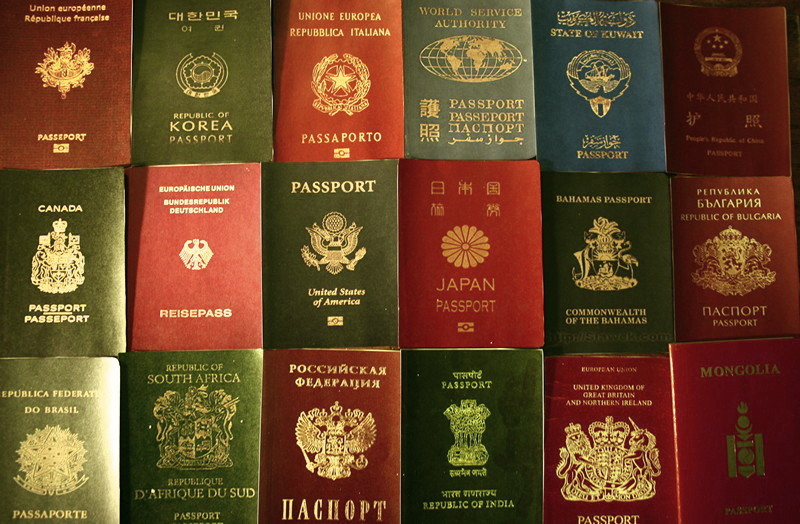 Passports assorted
