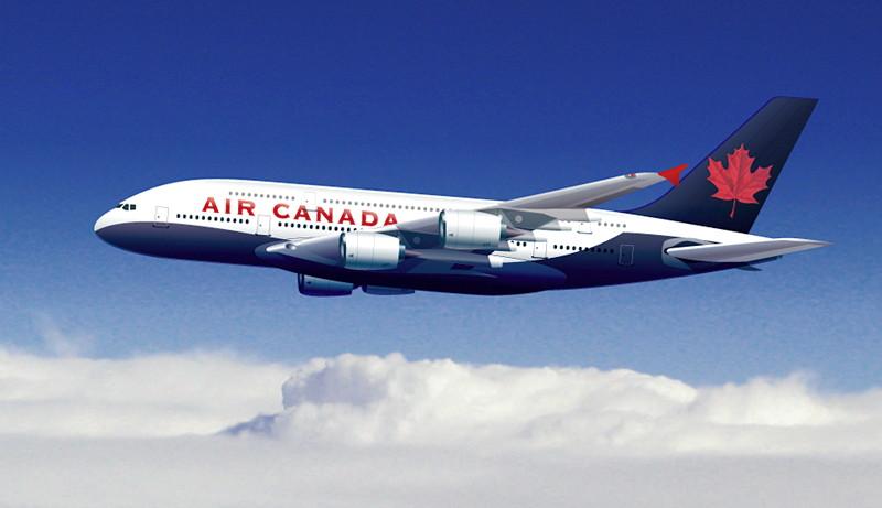 Air Canda plane