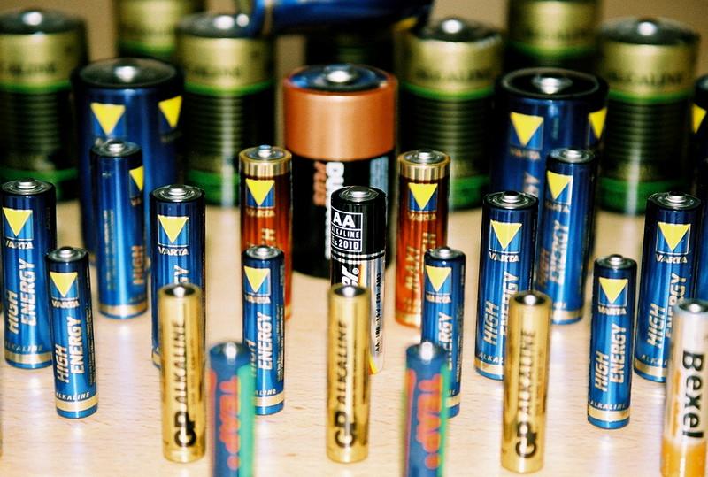 Batteries assorted