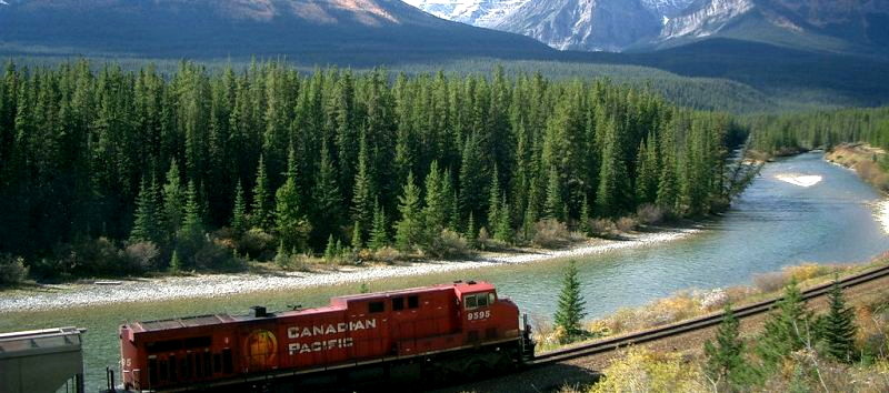 CN railway train