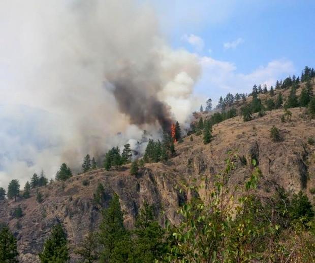 Okanagan wildfire