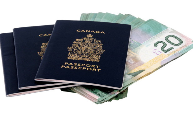 Passports and cash