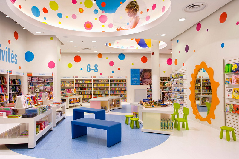 Chapters kids section