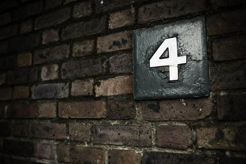 House number 4