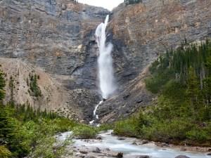 Takakkaw Falls along Takakkaw Creek in Yoho National Park
