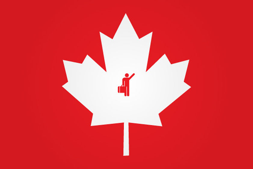 в канаду